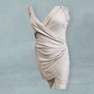 Intimately Free People Blush Bodycon Wrap Dress